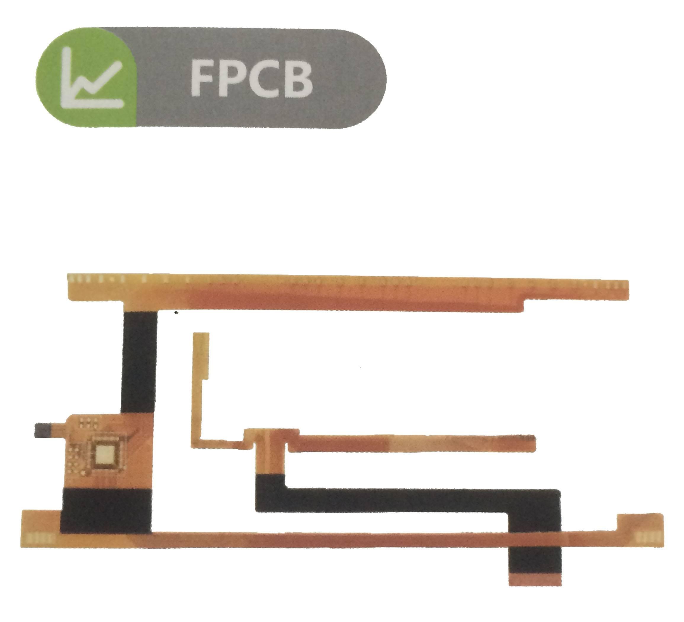 The ultrathin flexsible pcb board by shenbei factory in Shenzhen