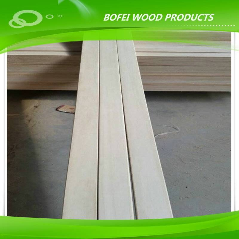 paulownia  panel Wooden Bed Slat