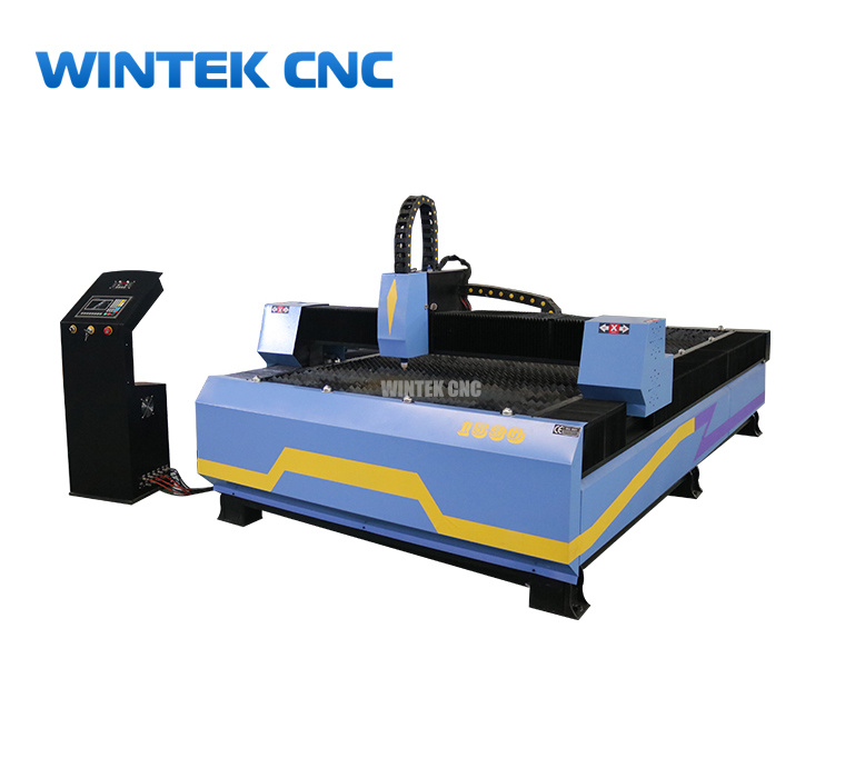 Metal cnc plasma cutting machine for stainless steel, brass, aluminum
