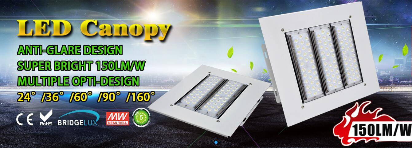 120lm/w LED Canopy Light for Gas Station Explosion-proof  Petrol Station Light