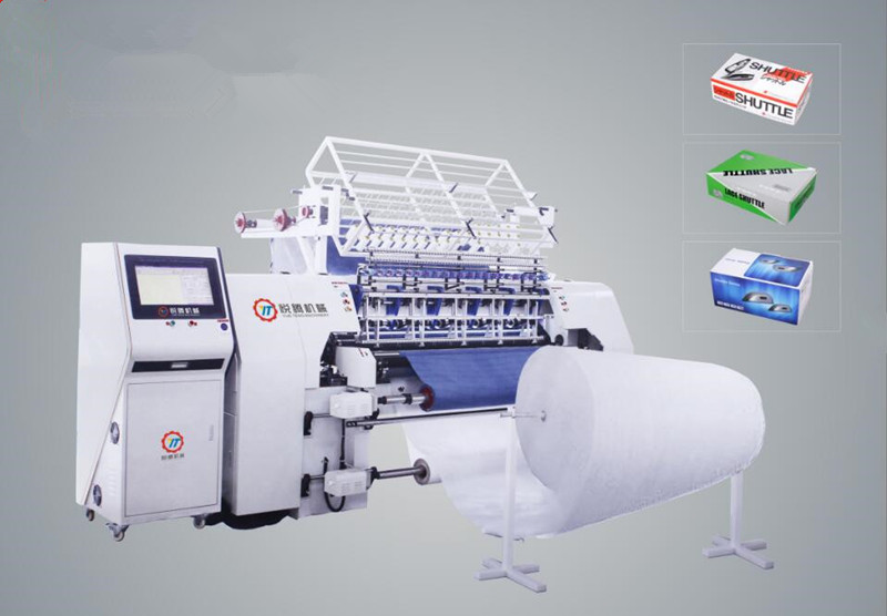 New Style shuttle multi needle machine for bed