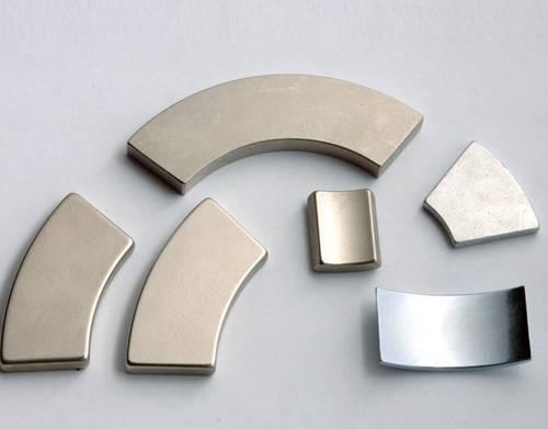 N35-N52 Tile/Segment/Arc NdFeB Magnets