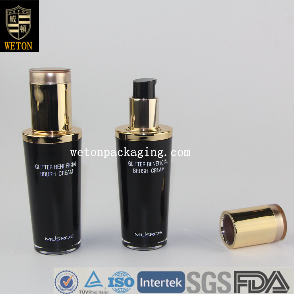 Cosmetic Acrylic Bottle Packaging