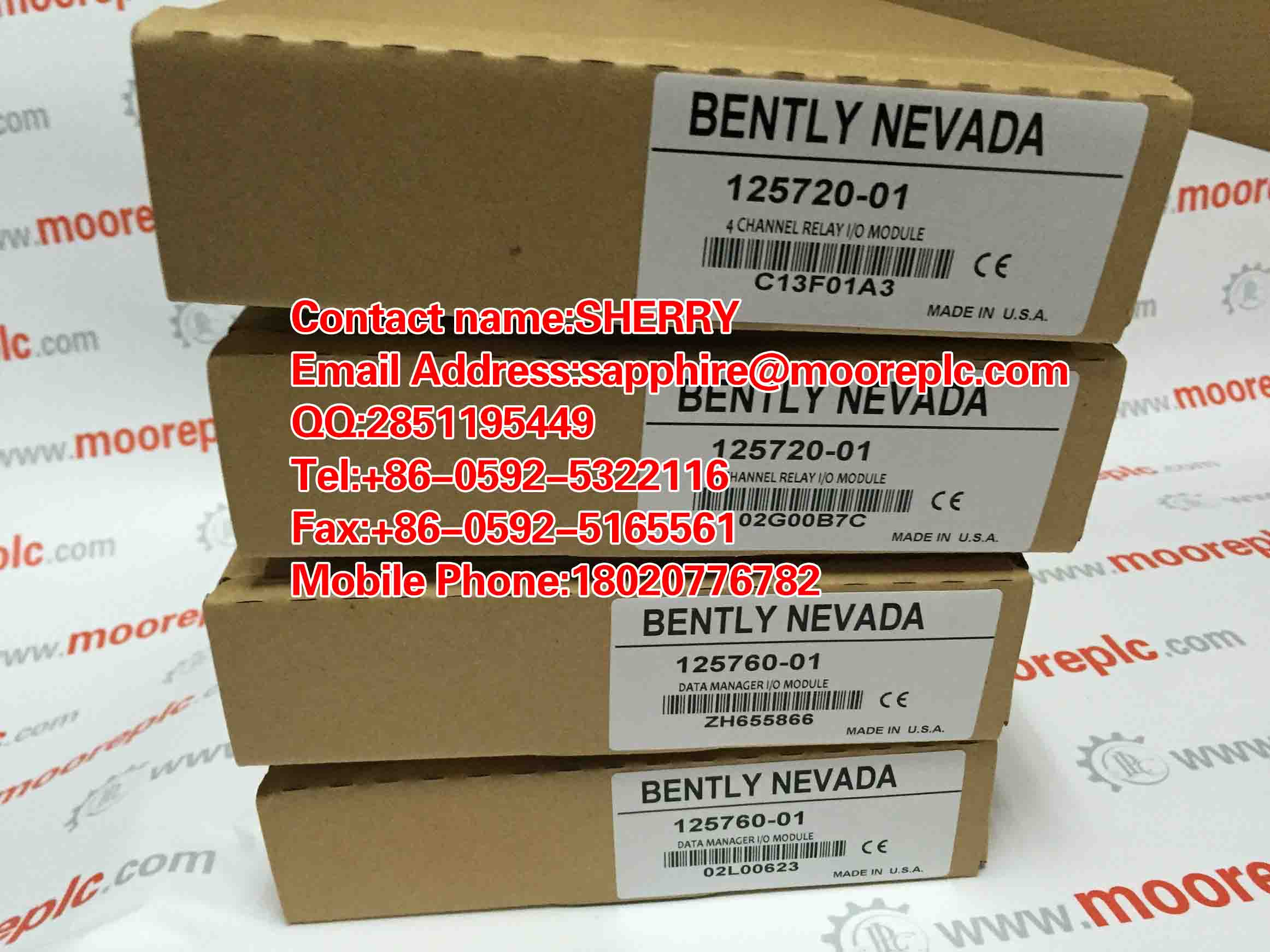 Bently Nevada 3500/33 350033 NEW FACTROY SEAL
