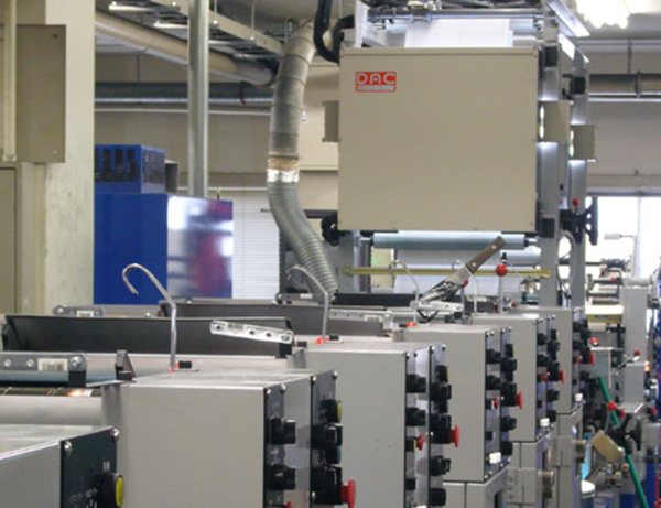 Business form print inspection system