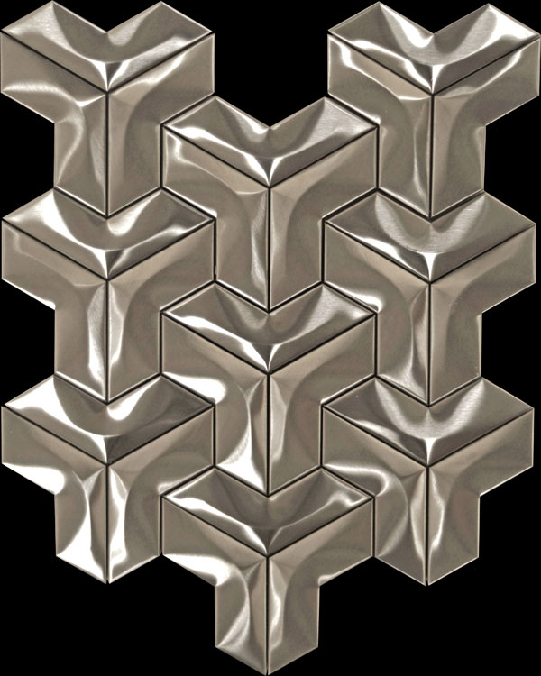 Stainless steel tile YP004