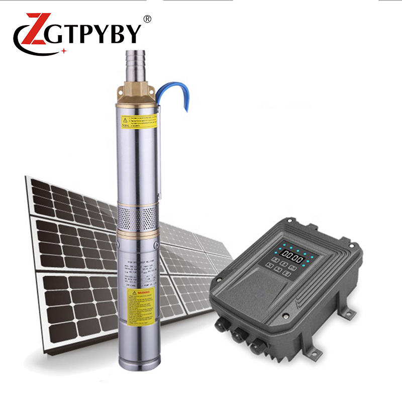 24 v solar powered water pump dc submersible brushless pumps