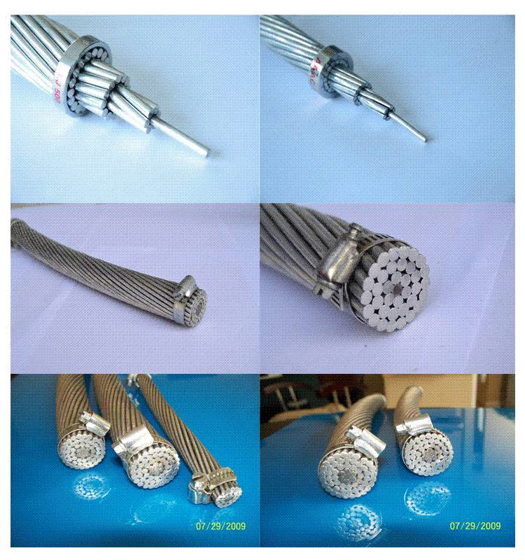 acsr bare conductor aluminum conductor steel reinforced