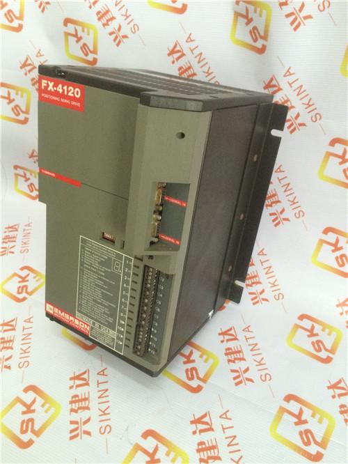 Emerson Drive Positioning Servo Drive FX-4120 FX4120 FX 4120 960121-01 240v 3ph