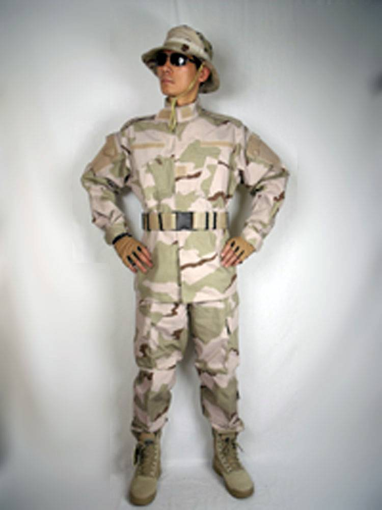 Acu 3color Desert Camouglage Clothing