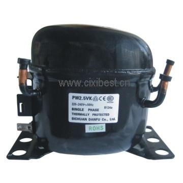 R134A LBP Motor Danfu Compressor PW2.0VK