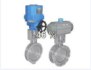 Triple Eccentric Butterfly Valve