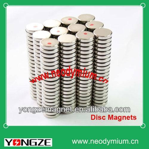 Sintered Neodymium Round Disc Magnets