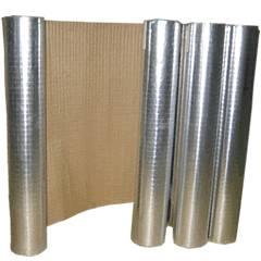 Heat sealing insulation facing