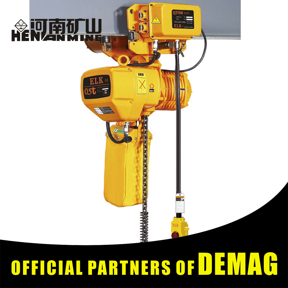 Reasonable price mini electric chain hoist used on overhead crane bridge crane