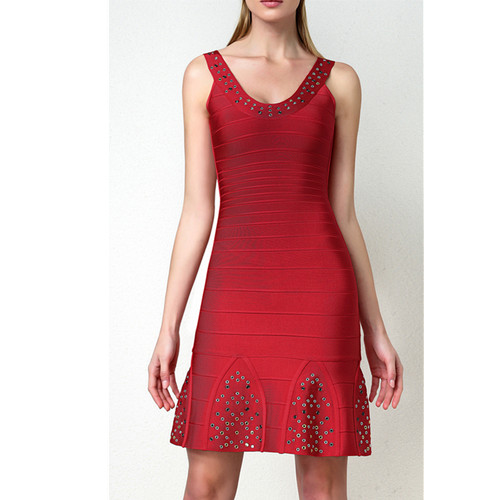 Leger Babe Red Formal Evening Dresses