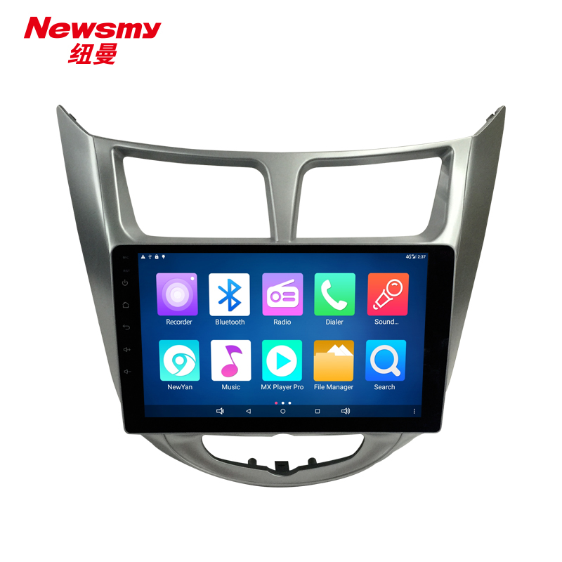NM9051-H-H0 (Hyundai Verna 10-16) no canbus Newsmy CarPad4 head unit Android 5.0 with Newyan APP