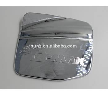 TANK COVER GAS COVER CHROMED FOR ISUZU DMAX 2012-CHROMED KITS