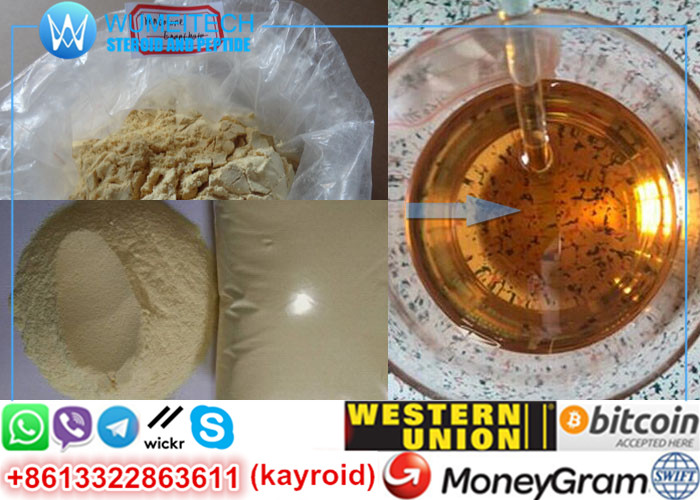Trenbolone Enanthate Trenabol 200mg Raw Tren Powder Light Yellow Red Injection Gear