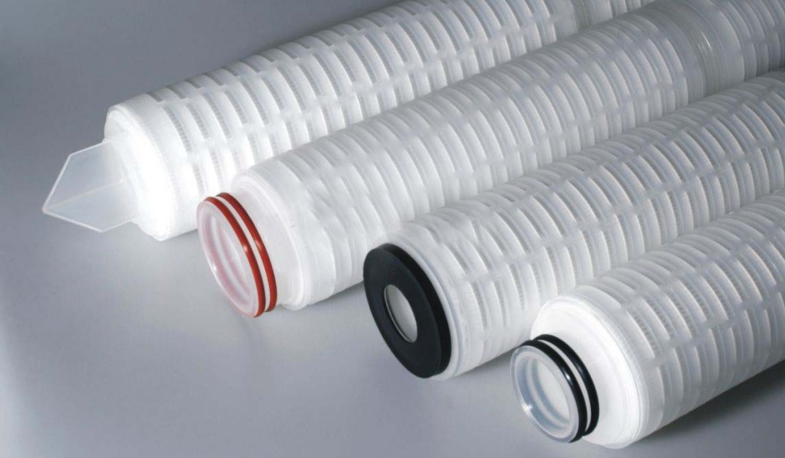 Pleated Filter Cartridges For Pharmaceutics/Ptfe Membrane Media Pleat Filter Cartridge