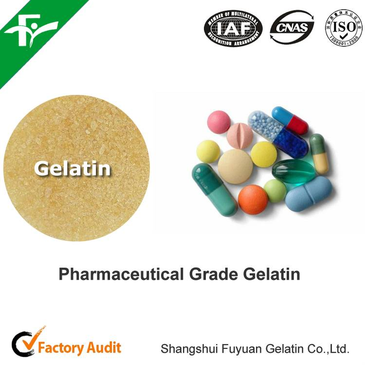 Gelatin for soft Capsules - For packaging and dispensing medications