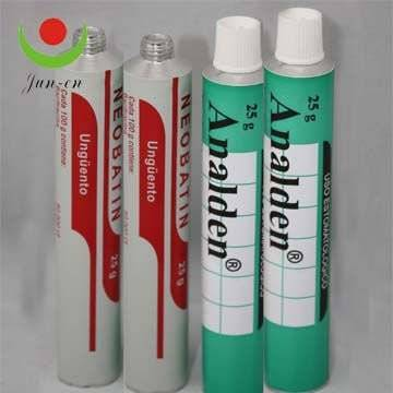 packaging tube for medicine/sealants/glue/shoe polish/water color/ointment with high quality & compe