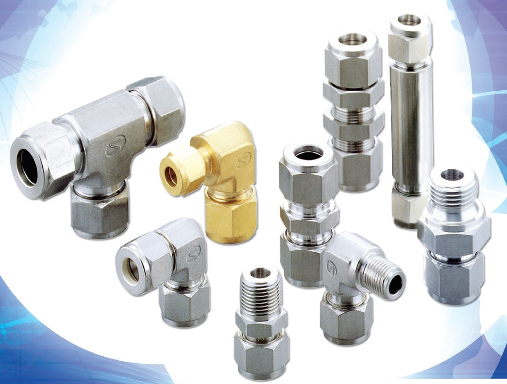 lok type tube fittngs for double ferrule