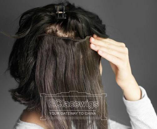 Indian Peruvian Brazilian Virgin Human Hair Clip-In Hair Extensions for Black Women,Wholesale Price