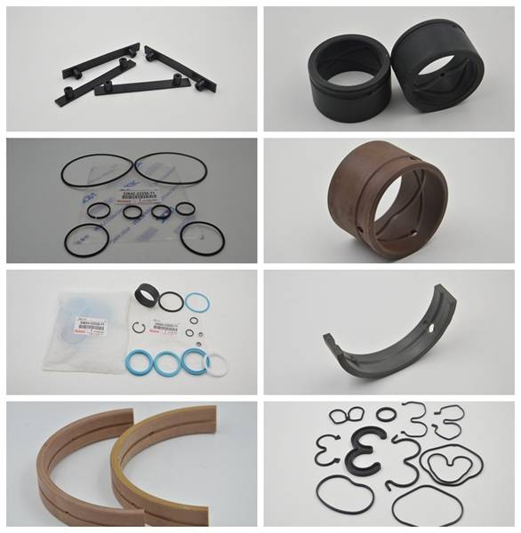Toyota forklift spare parts, toyota hydraulic cylinder seal kits