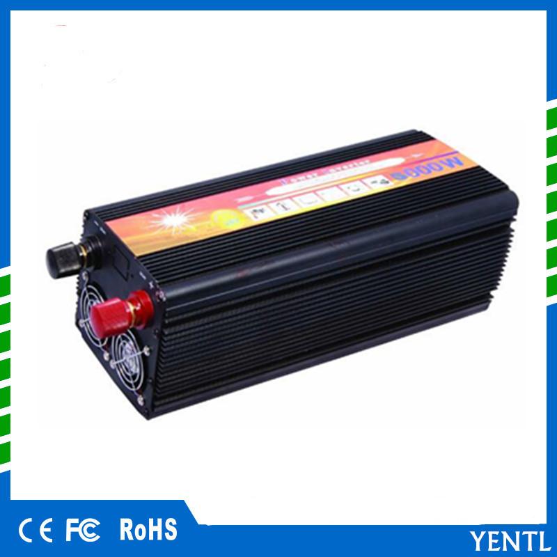 Long lifetime 1000w - 5000w home Power Inverter Converter DC 12v/24V to AC 110V /220V modified Sine