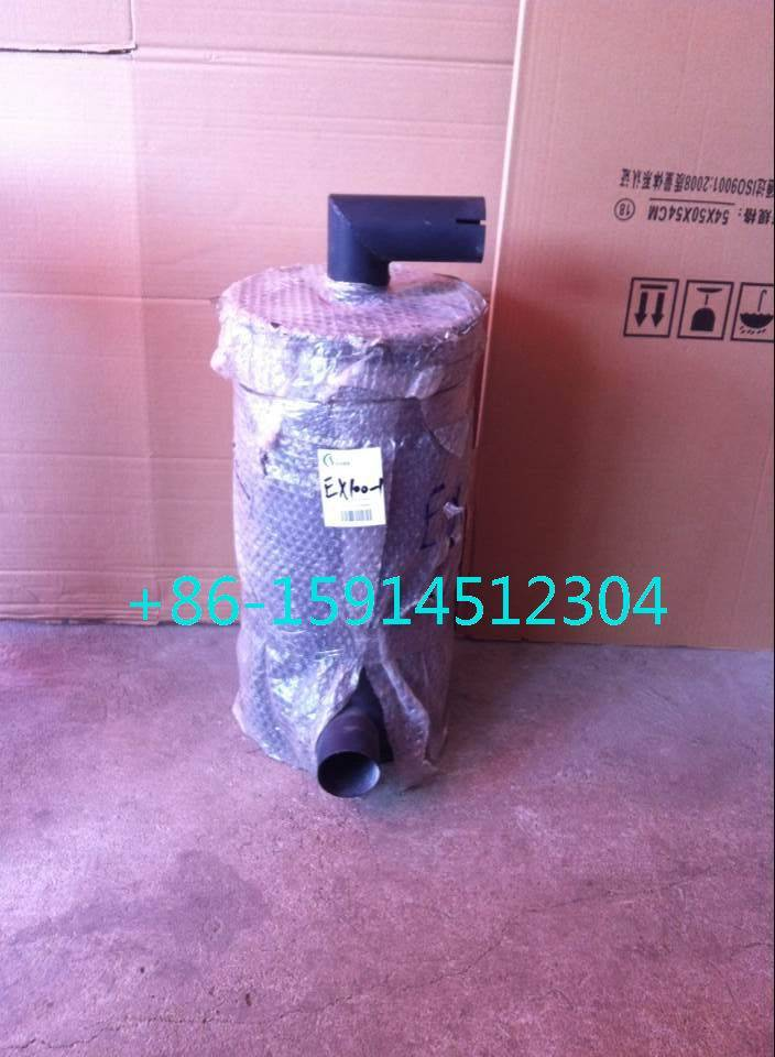 8-94366-241-0 Hitachi EX100 muffler with tube