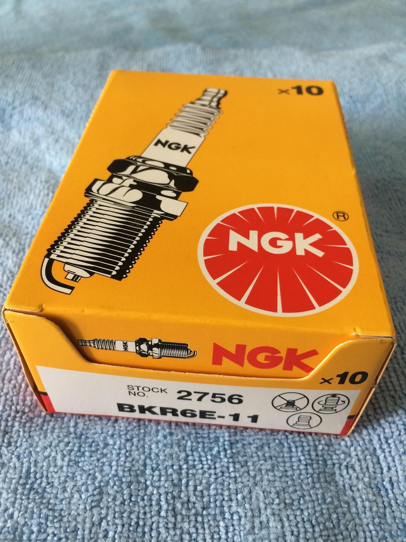 NGK OE# BKR6E-11 Spark Plug for Nissan Altima Sentra Infiniti QX4 22401-50Y06