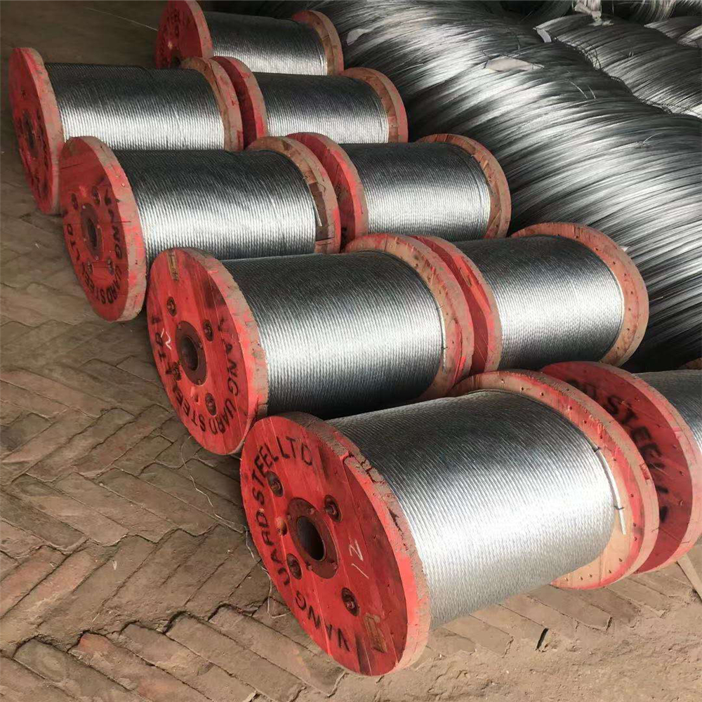 BS Galvanized Steel Strand for Sale