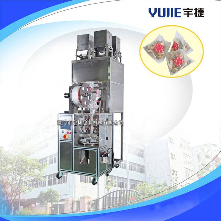 YD-SJB04 Automatic Nylon Triangle Tea Bag Packing Machine