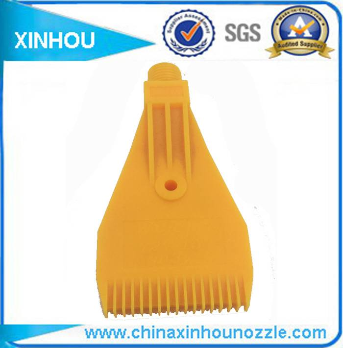 Plastic flat air blow windjet nozzle
