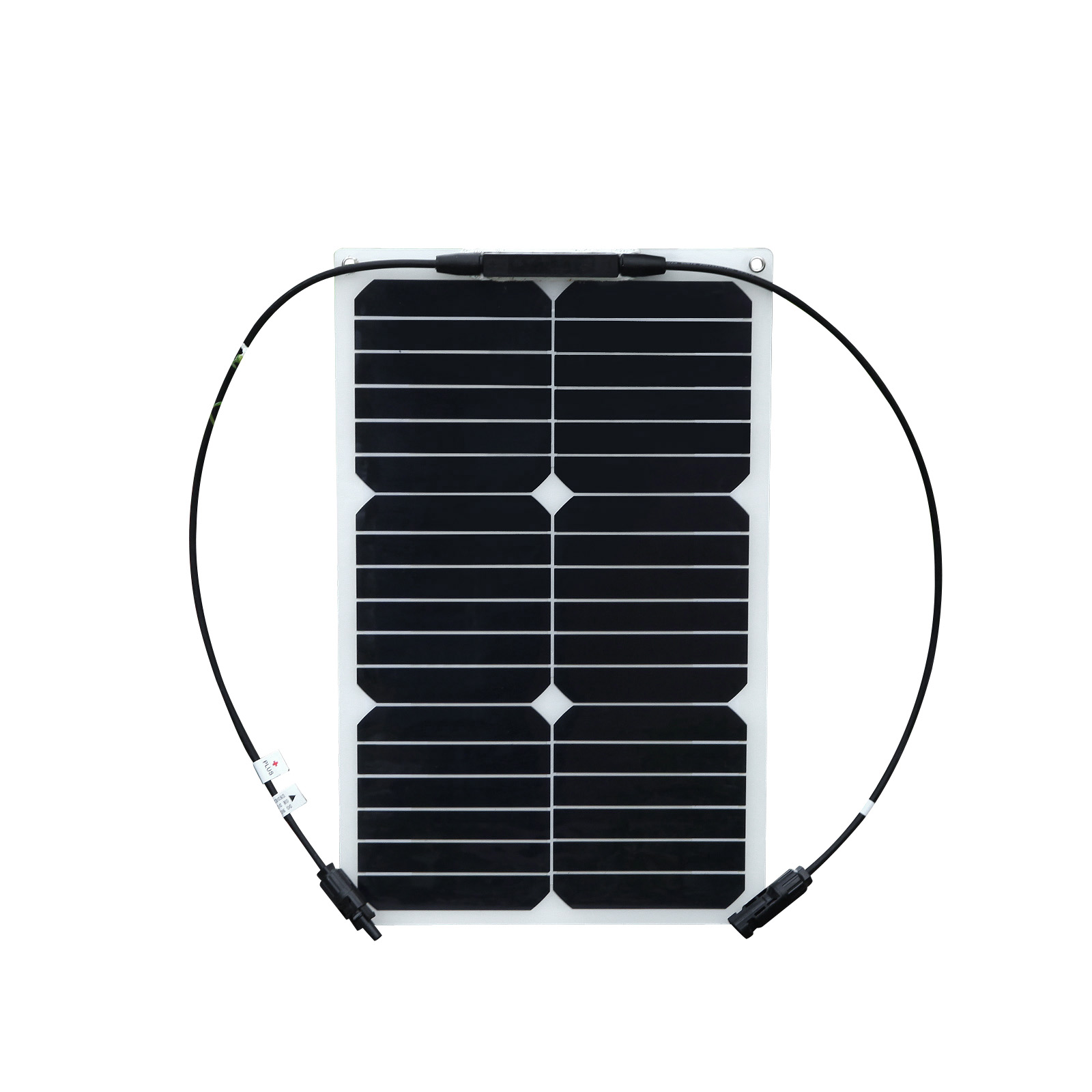 18W FLEXIBLE SOLAR PANEL CAN BE USED ON RV AND BOAT