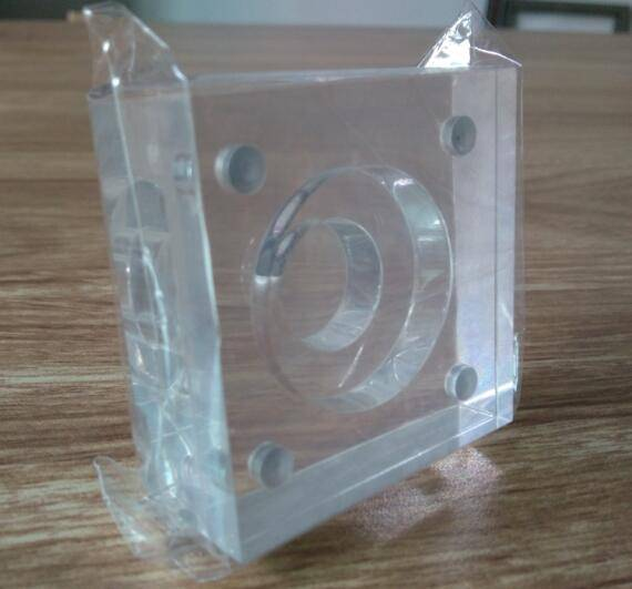 Transparent acrylic coin holder