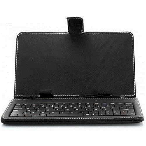 "DOMO nCase K5 Synthetic Leather Carrycase Keyboard for 7"" Tablet PC"