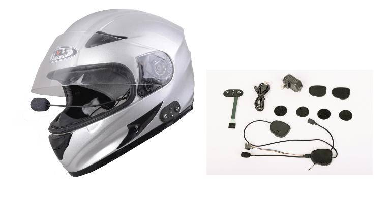 DK-08-4B Bluetooth helmet headset intercom 400 meters