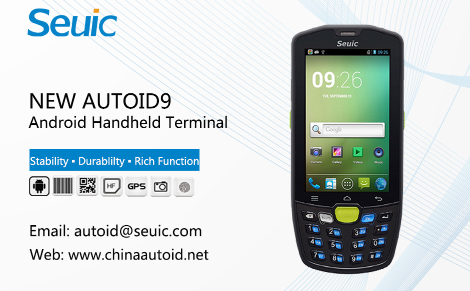 Android Industrial PDA for Data Collection-NEW AUTOID 9