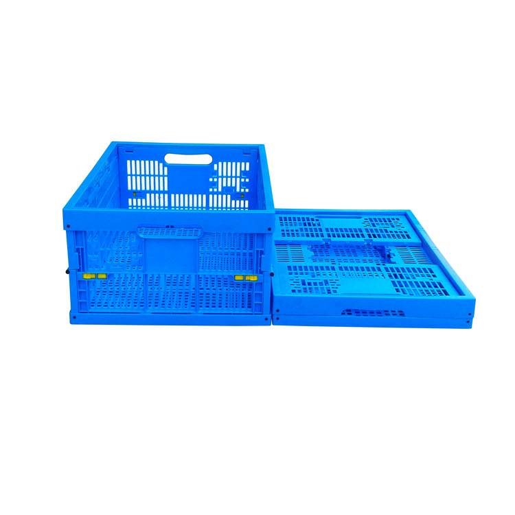 600*400*240mm plastic material mesh type crate for fruits
