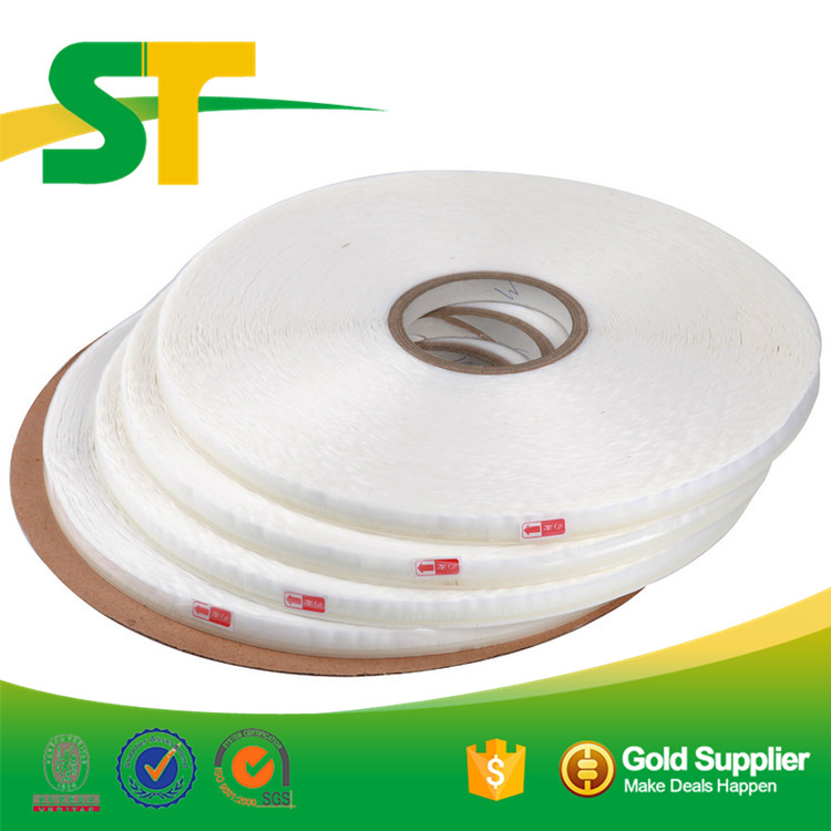Strong Adhesion Permanent Double Sided Bag Sealing Adhesive Resealable Tape