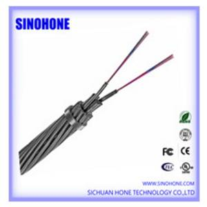 Optical Fiber Composite Overhead Ground Wire OPGW Cable