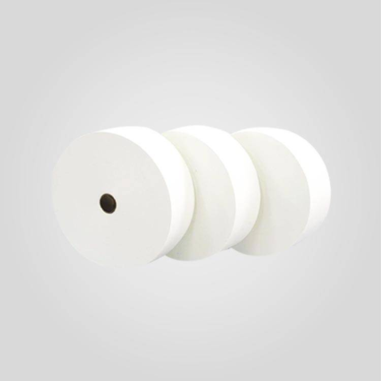 Raw material spunlace nonwoven fabric for wet wipes