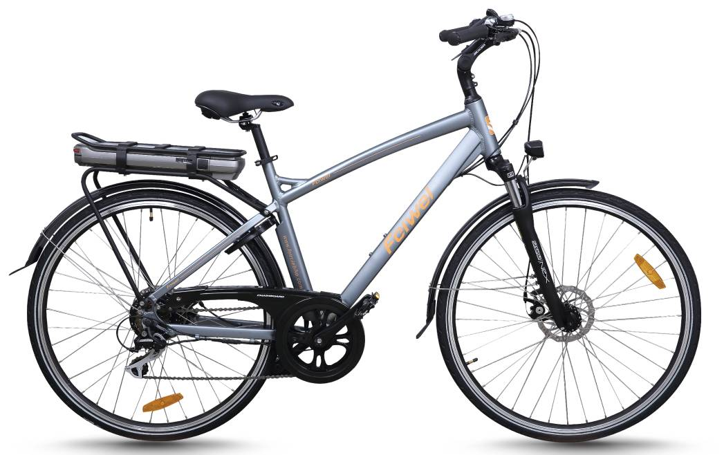Mid-drive motor electric city bike (FR-TDB03Z)