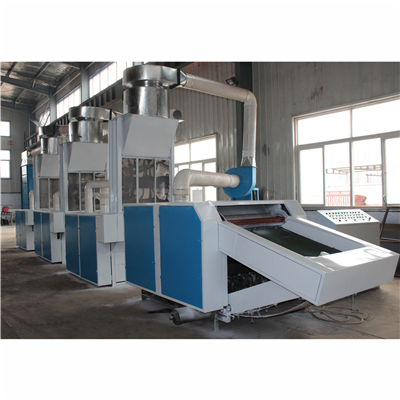 Single-type fiber recycling machine