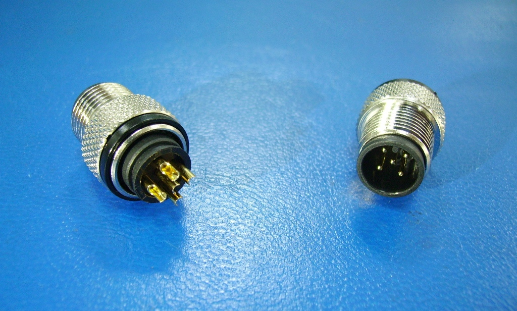 M12 5 PIN MALE A-CODE FOR CABLE