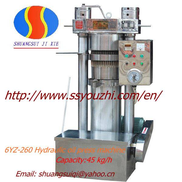 Hydraulic Sesame Oil Mill