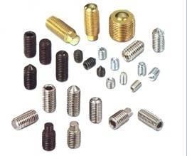 No head screws/Headless screws/Hexagonal Socket set screws with cone point