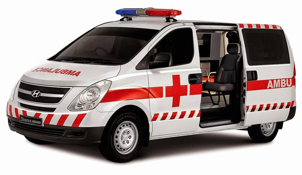 AMBULANCE HYUNDAI H-1